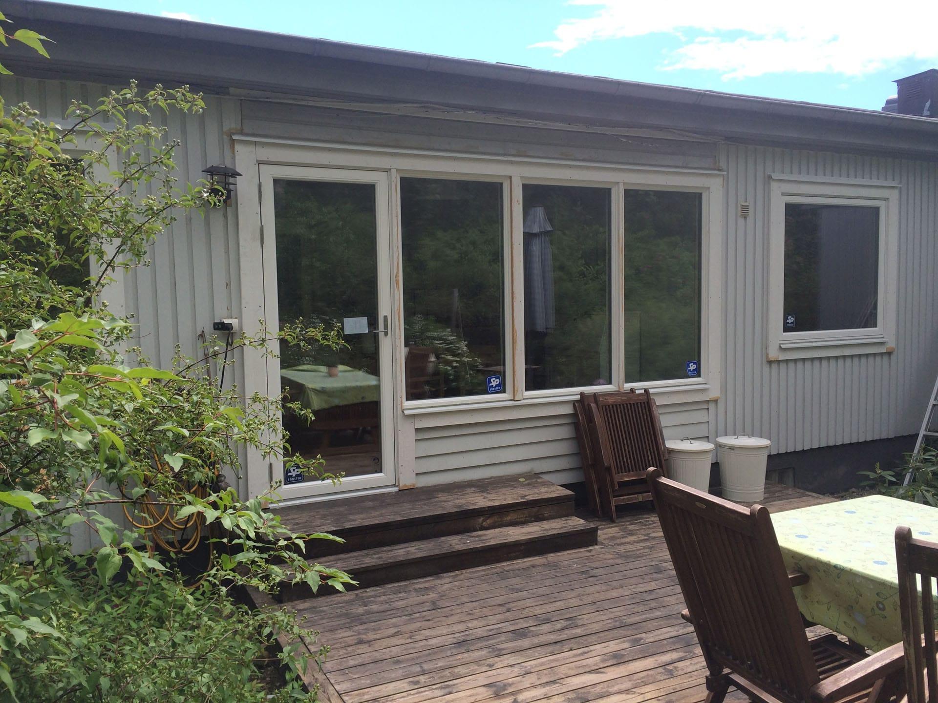 Byte av fönster och dörr Skeppsdalsvägen bild3