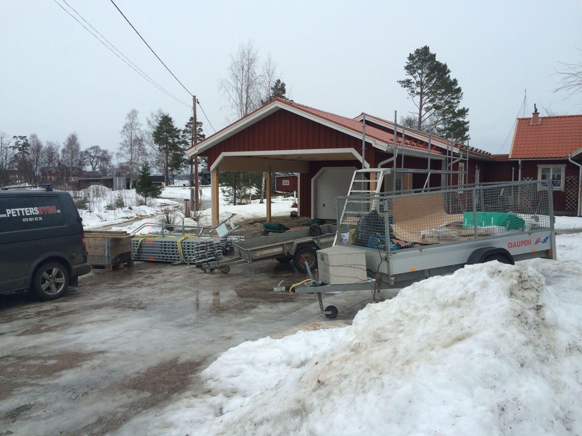Ny carport Saltvik bild2